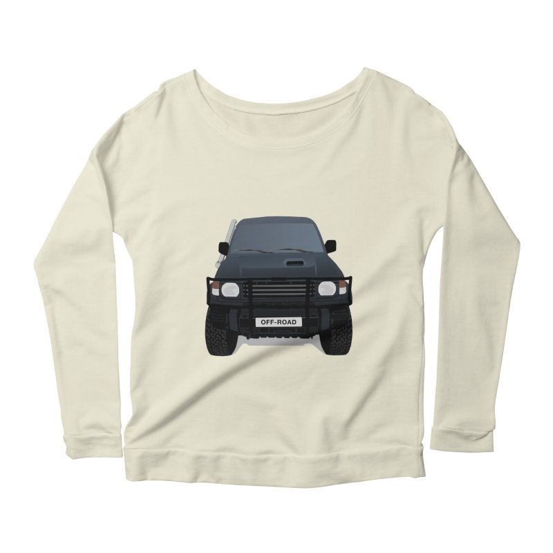 Let's Off Road Women's Scoop Neck Longsleeve T-Shirt by Me&My3D