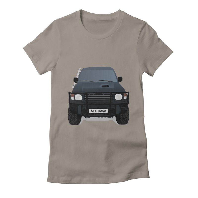 Let's Off Road Women's Fitted T-Shirt by Me&My3D
