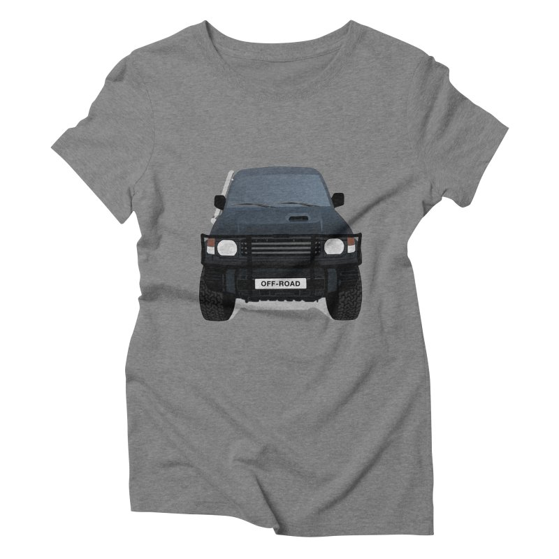 Let's Off Road Women's Triblend T-Shirt by Me&My3D