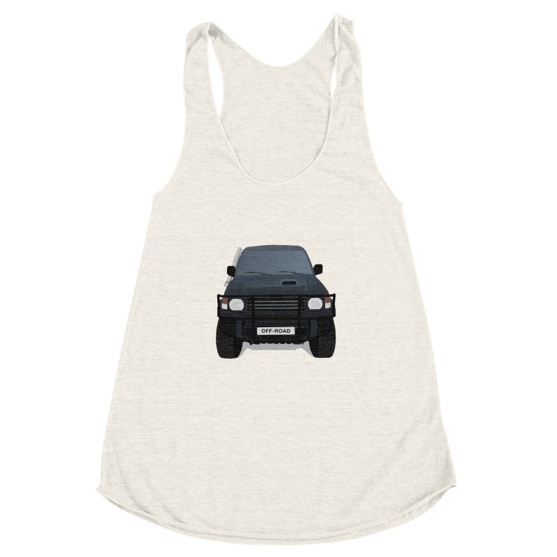 Let's Off Road Women's Racerback Triblend Tank by Me&My3D