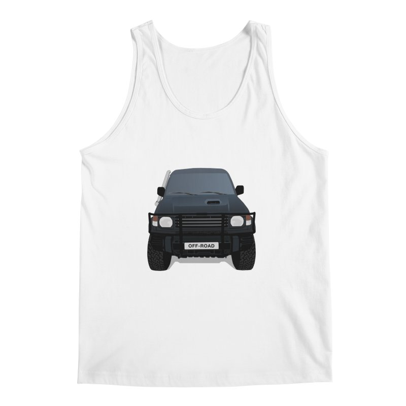 Let's Off Road Men's Regular Tank by Me&My3D
