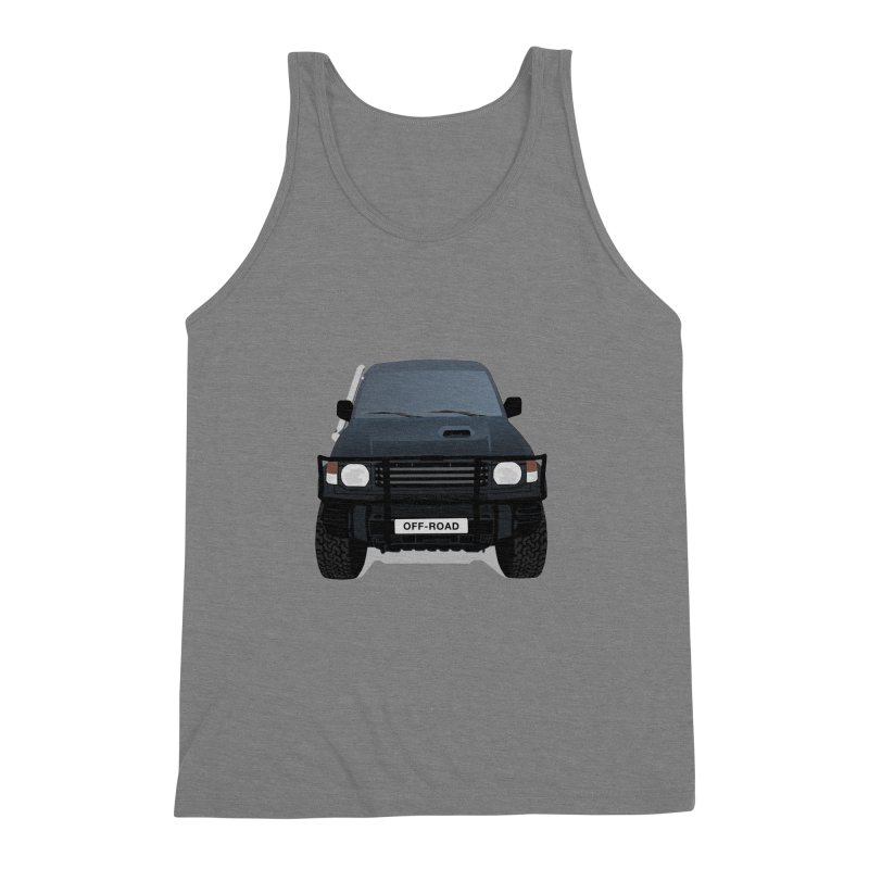 Let's Off Road Men's Triblend Tank by Me&My3D
