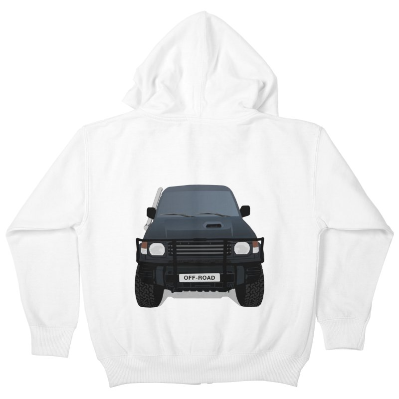 Let's Off Road Kids Zip-Up Hoody by Me&My3D