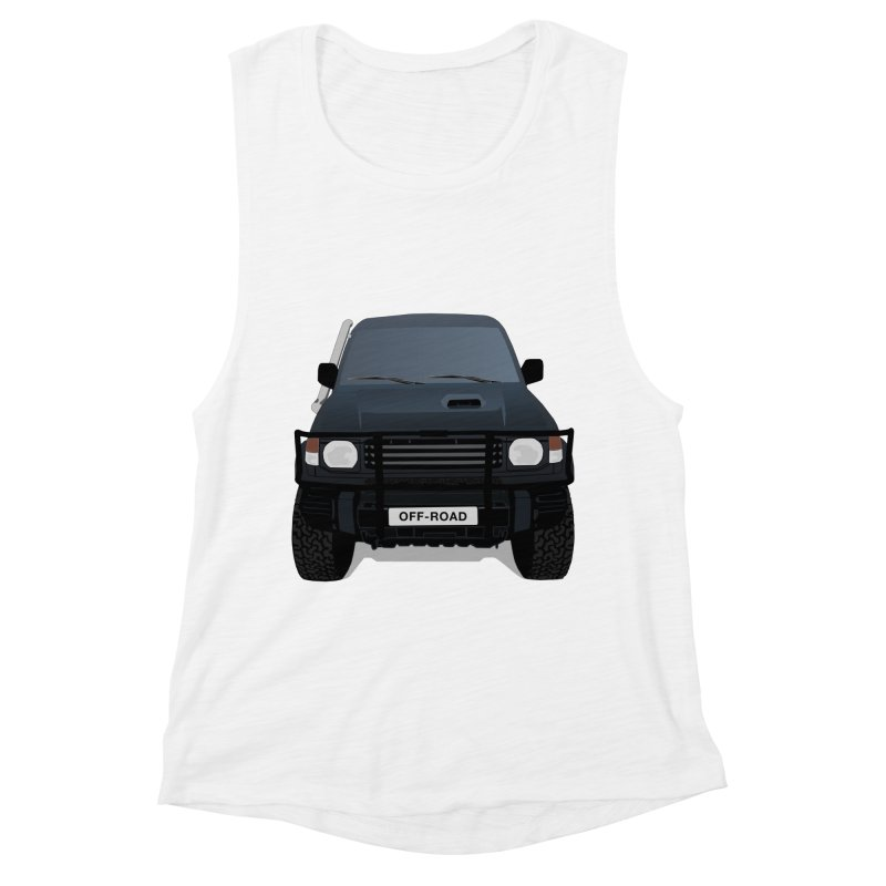 Let's Off Road Women's Muscle Tank by Me&My3D