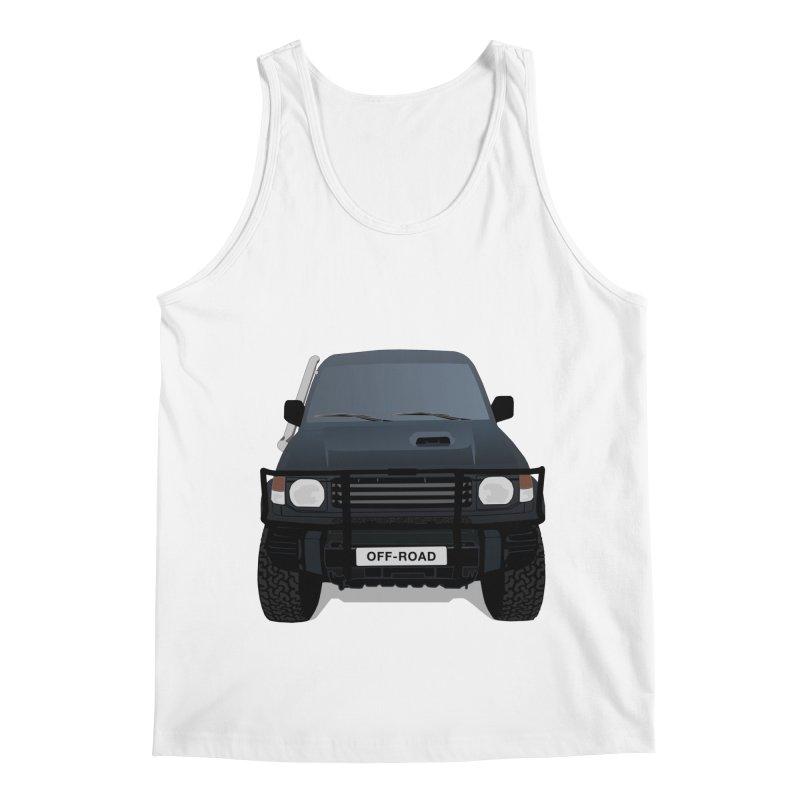Let's Off Road Men's Regular Tank by Me&My3D