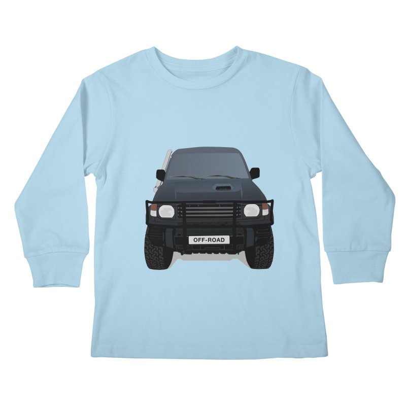 Let's Off Road Kids Longsleeve T-Shirt by Me&My3D