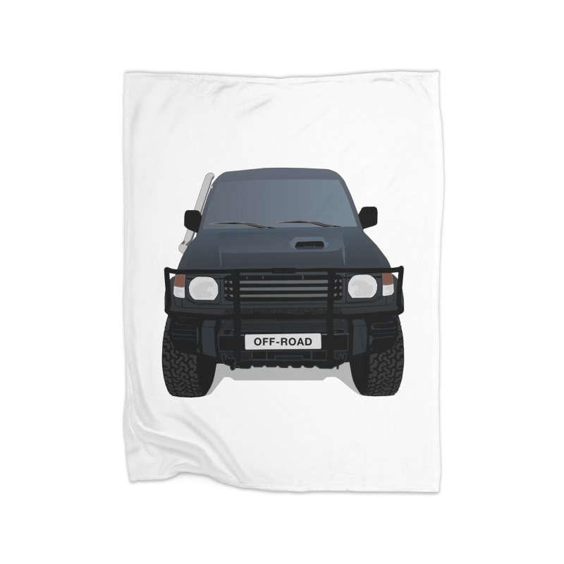Let's Off Road Home Blanket by Me&My3D