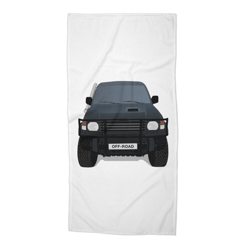 Let's Off Road Accessories Beach Towel by Me&My3D
