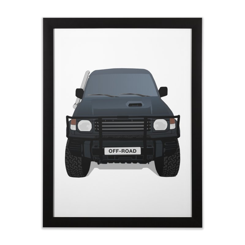 Let's Off Road Home Framed Fine Art Print by Me&My3D