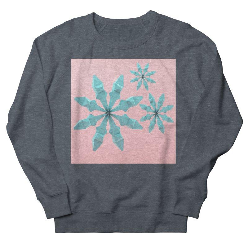 Snowflake (cyan and pink) Men's Sweatshirt by Me&My3D