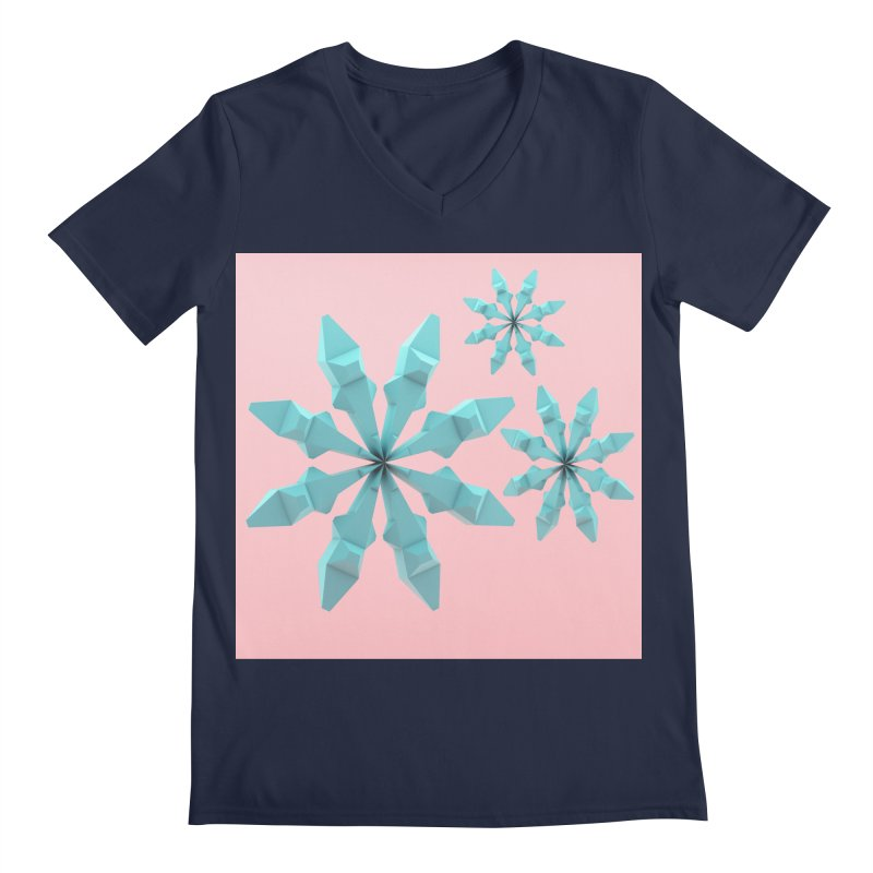 Snowflake (cyan and pink)   by Me&My3D