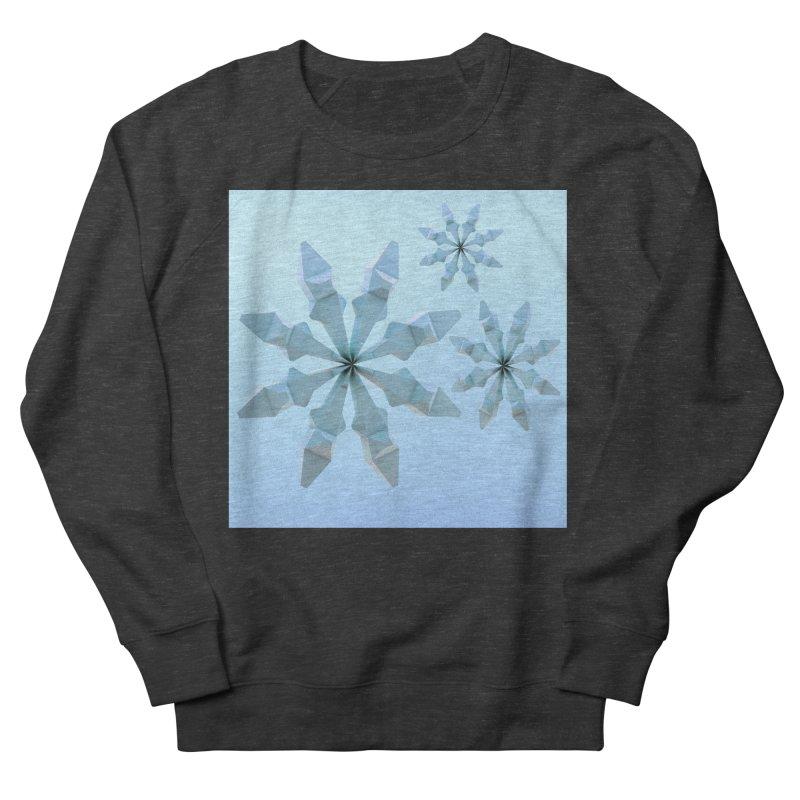 Snowflakes (blue) Women's Sweatshirt by Me&My3D