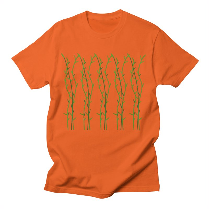 Bamboo Pattern Men's T-Shirt by Me&My3D