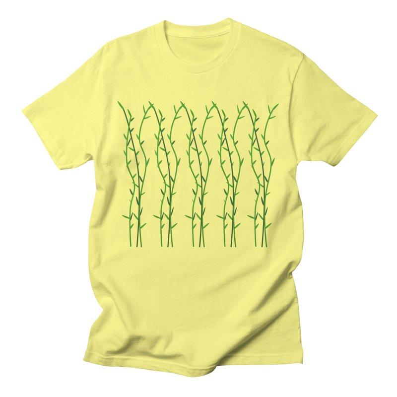 Bamboo Pattern Women's Regular Unisex T-Shirt by Me&My3D