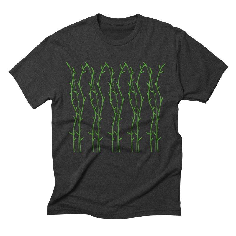 Bamboo Pattern Men's Triblend T-Shirt by Me&My3D