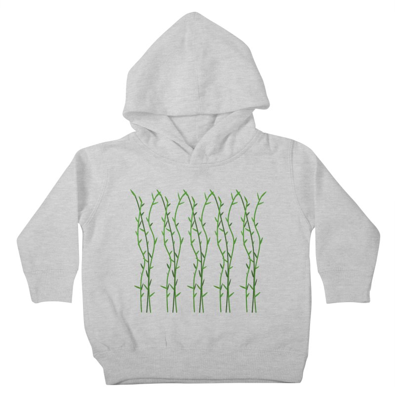 Bamboo Pattern Kids Toddler Pullover Hoody by Me&My3D