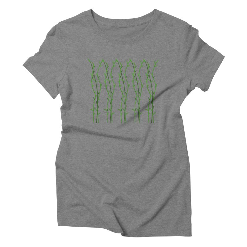 Bamboo Pattern Women's Triblend T-Shirt by Me&My3D