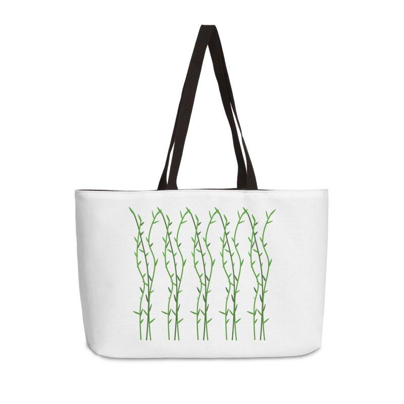 Bamboo Pattern Accessories Weekender Bag Bag by Me&My3D