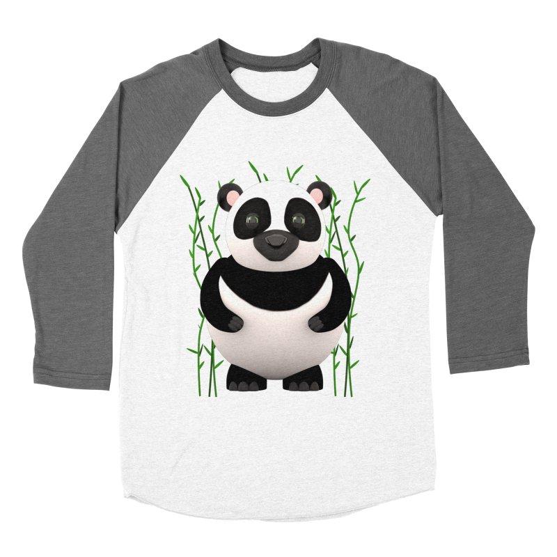 Cartoon Panda Among Bamboos Women's Longsleeve T-Shirt by Me&My3D