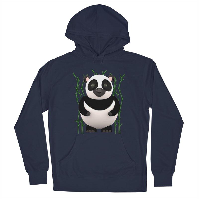 Cartoon Panda Among Bamboos Men's Pullover Hoody by Me&My3D