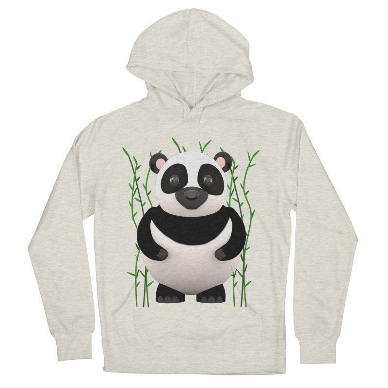 Cartoon Panda Among Bamboos Women's Pullover Hoody by Me&My3D