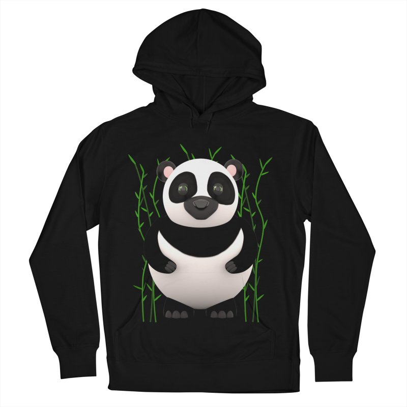 Cartoon Panda Among Bamboos Women's French Terry Pullover Hoody by Me&My3D
