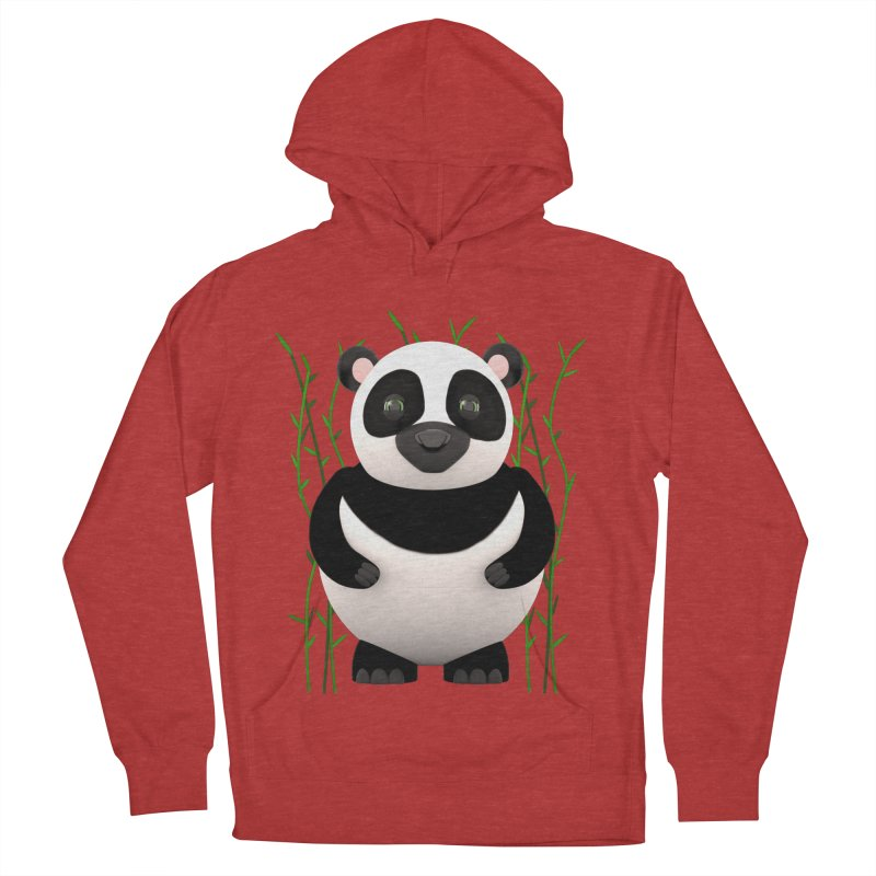 Cartoon Panda Among Bamboos Men's Pullover Hoody by Me&My3D