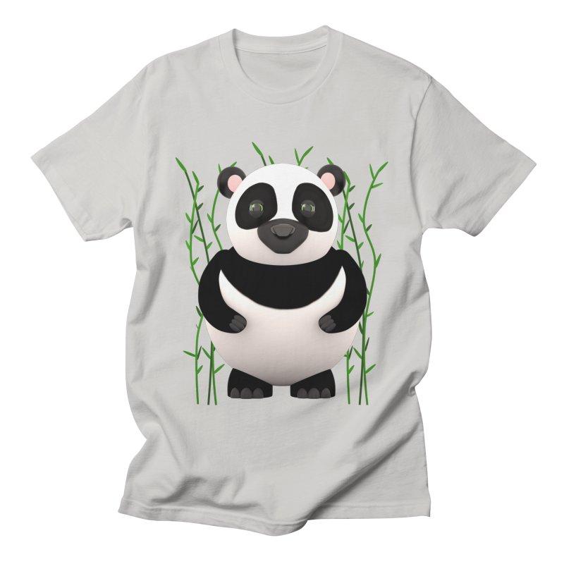 Cartoon Panda Among Bamboos   by Me&My3D