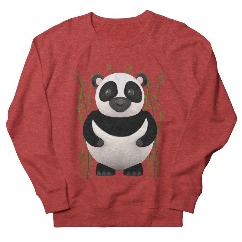 Cartoon Panda Among Bamboos Women's Sweatshirt by Me&My3D