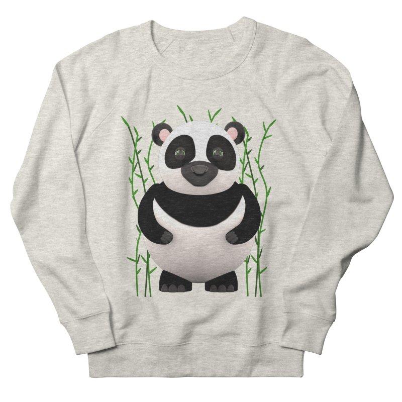 Cartoon Panda Among Bamboos Women's French Terry Sweatshirt by Me&My3D