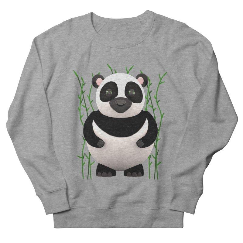 Cartoon Panda Among Bamboos Men's Sweatshirt by Me&My3D