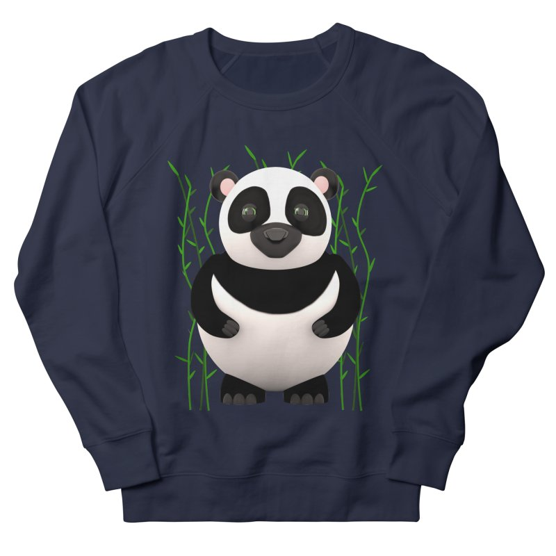 Cartoon Panda Among Bamboos Men's Sweatshirt by Me&My3D