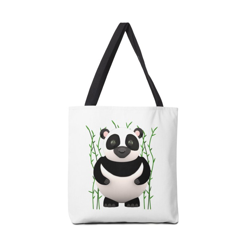 Cartoon Panda Among Bamboos Accessories Bag by Me&My3D