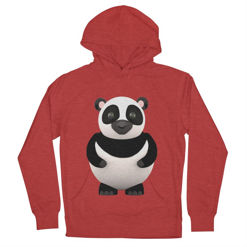 Cartoon Panda Women's Pullover Hoody by Me&My3D