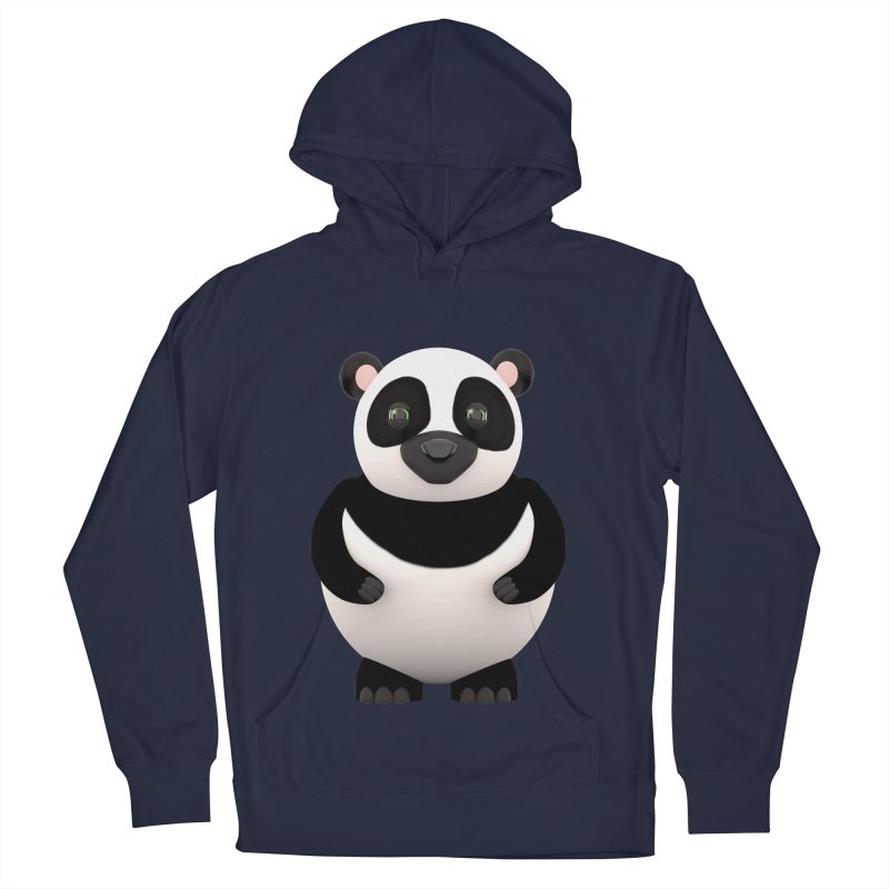 Cartoon Panda Women's French Terry Pullover Hoody by Me&My3D