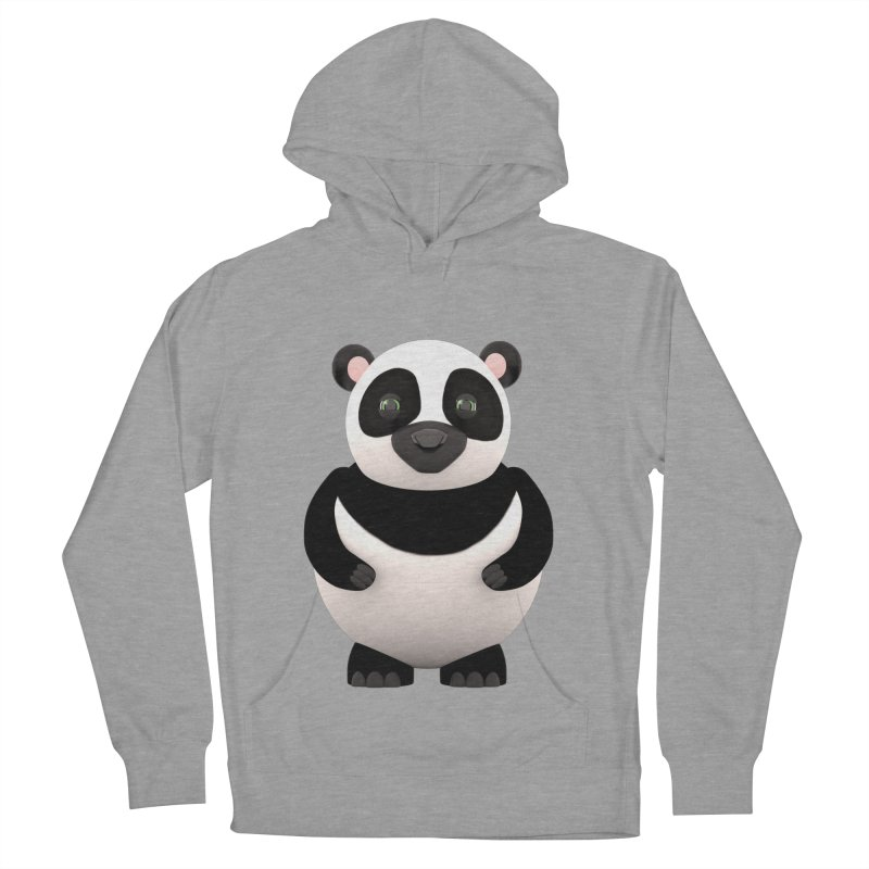 Cartoon Panda Men's Pullover Hoody by Me&My3D