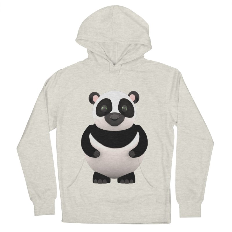 Cartoon Panda Men's Pullover Hoody by Me&My3D