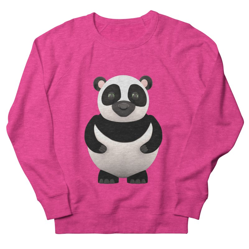Cartoon Panda Women's French Terry Sweatshirt by Me&My3D