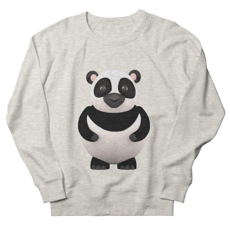 Cartoon Panda Women's French Terry Sweatshirt by Me&My3D