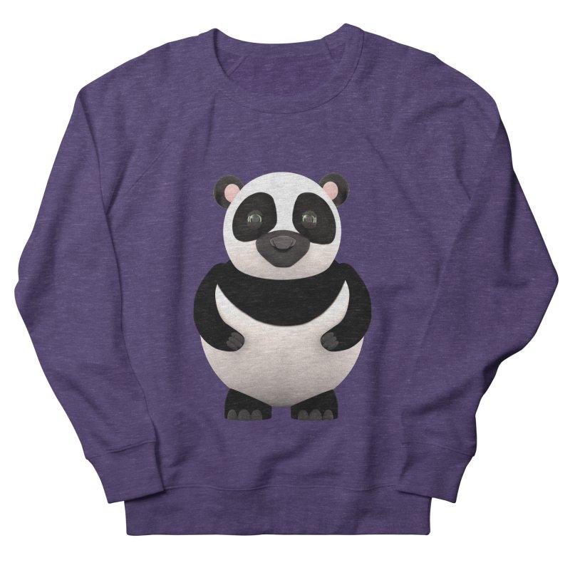 Cartoon Panda Men's French Terry Sweatshirt by Me&My3D