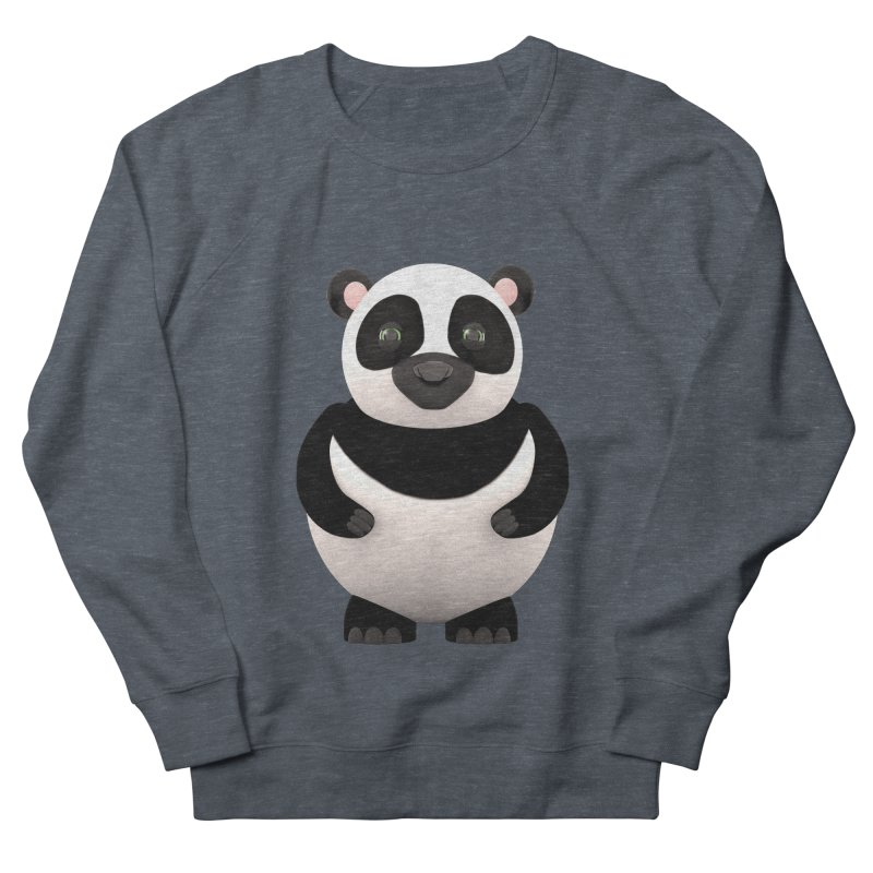 Cartoon Panda Men's French Terry Sweatshirt by Me&My3D