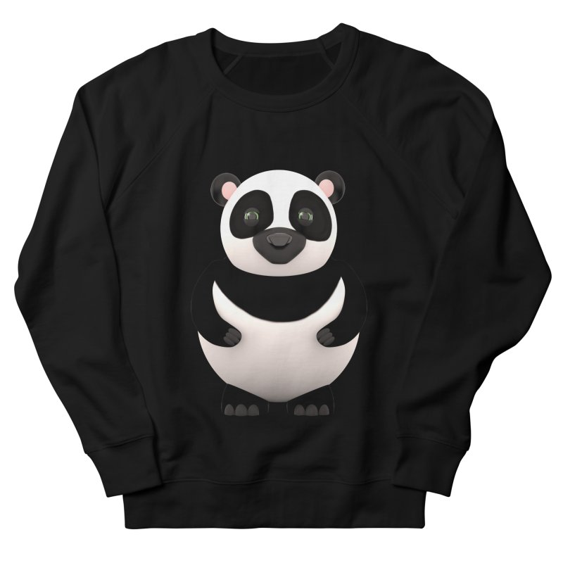 Cartoon Panda Men's Sweatshirt by Me&My3D