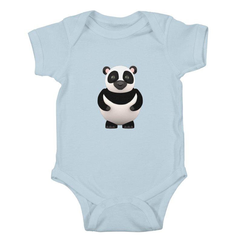Cartoon Panda Kids Baby Bodysuit by Me&My3D