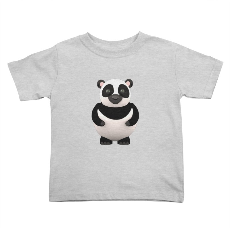 Cartoon Panda Kids Toddler T-Shirt by Me&My3D