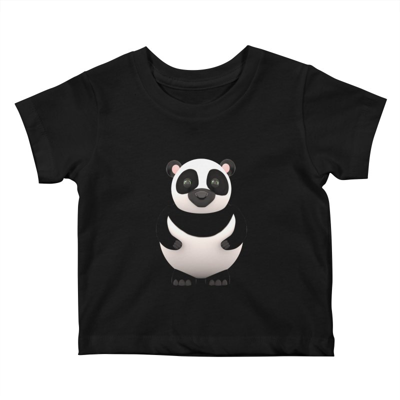 Cartoon Panda Kids Baby T-Shirt by Me&My3D