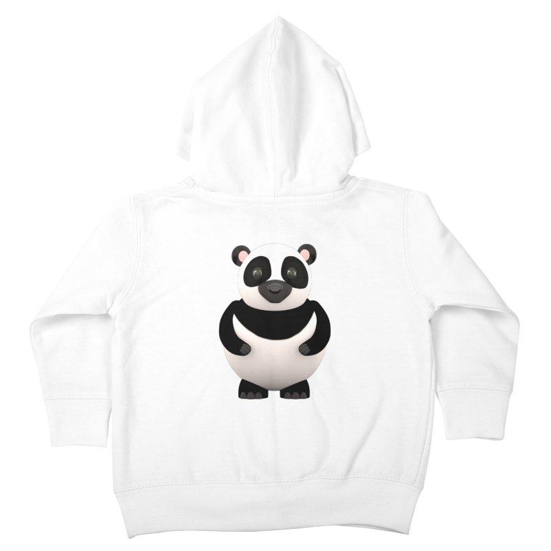 Cartoon Panda Kids Toddler Zip-Up Hoody by Me&My3D