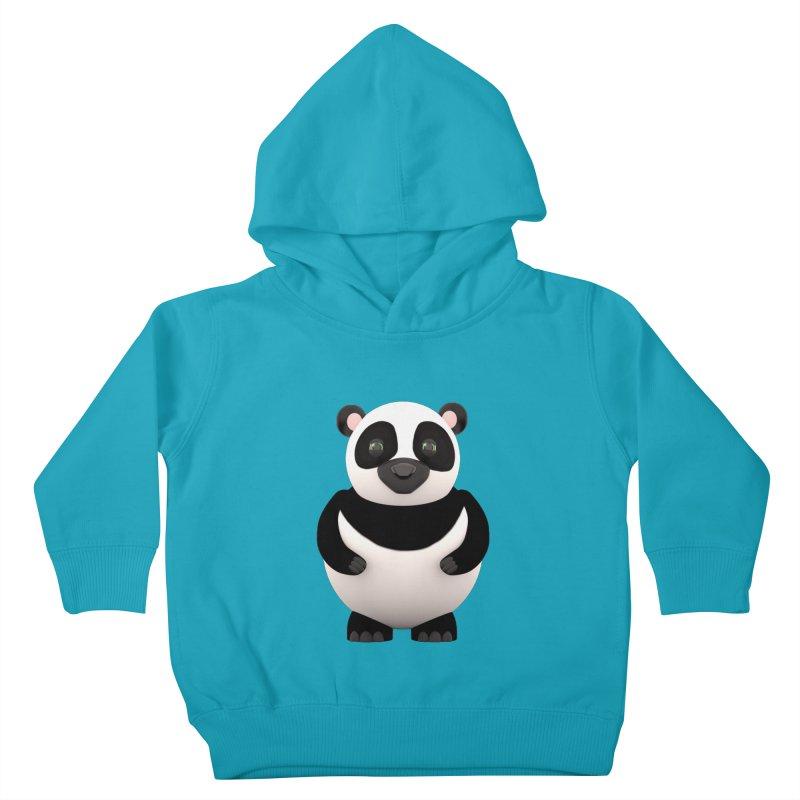 Cartoon Panda Kids Toddler Pullover Hoody by Me&My3D