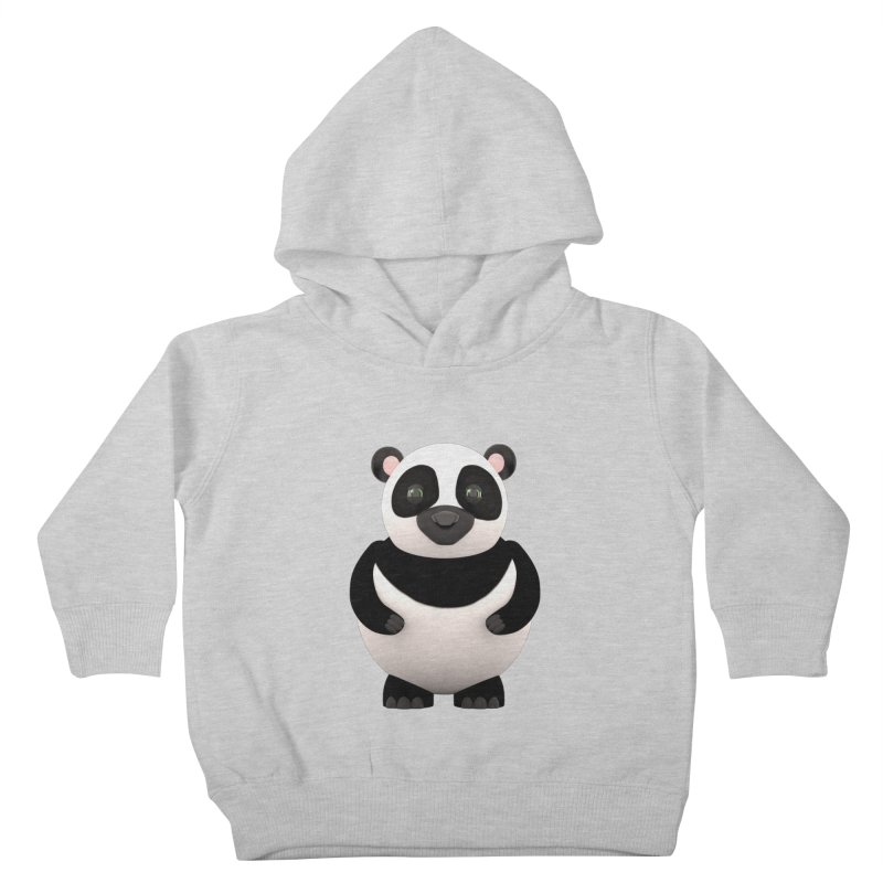 Cartoon Panda Kids Toddler Pullover Hoody by Me&My3D