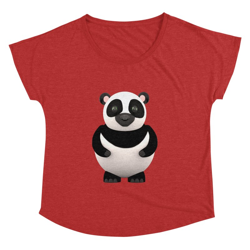 Cartoon Panda Women's Dolman by Me&My3D