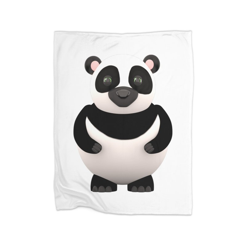 Cartoon Panda Home Blanket by Me&My3D